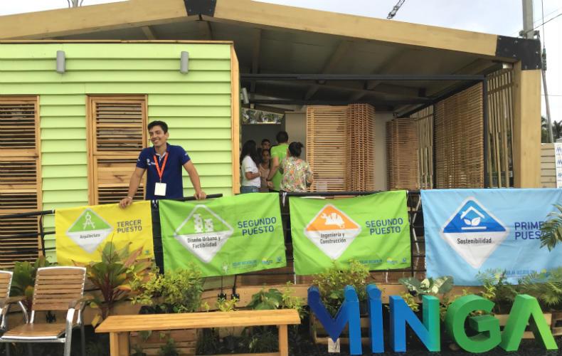 La casa ganadora del Solar Decathlon Lat lleva los productos Pintuco