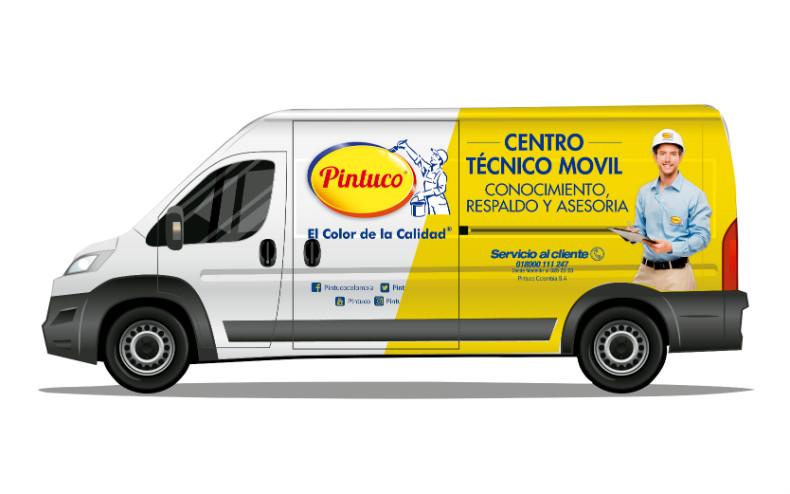 Ahora nuestro centro técnico móvil está también en Antioquia