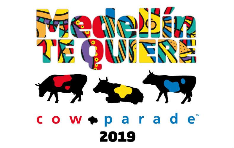 12 vacas se visten con los colores de Pintuco en Cow Parade