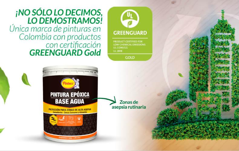 Pintura Pintuco recibió la certificación GREENGUARD Gold