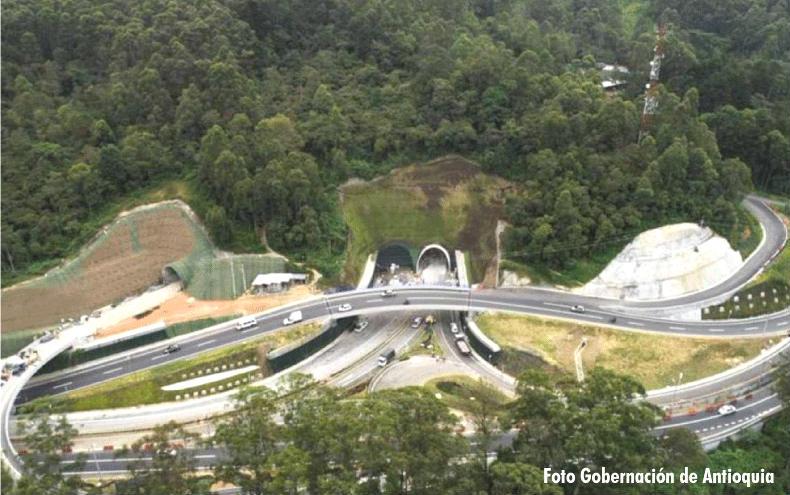 La pintura del túnel vehicular más largo de Latinoamérica es Pintuco