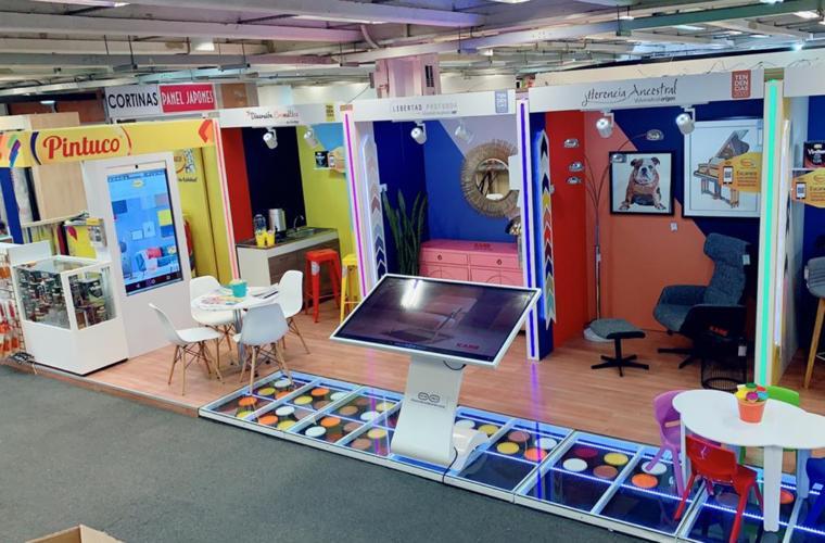 En la Feria del Hogar 2019, Pintuco muestra la calidad de su color a través de Color Tech