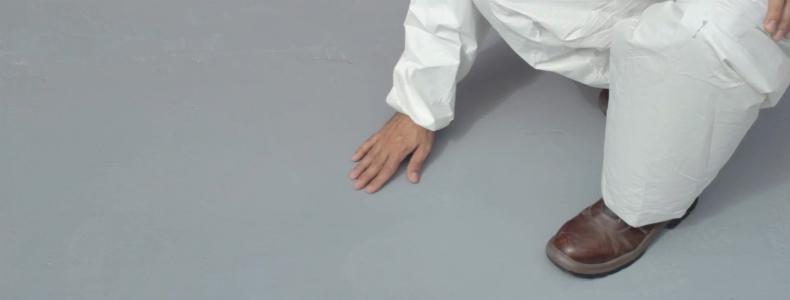 Pintar piso Industrial Pintuco