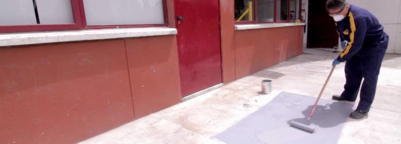 Pintar piso Pintuco