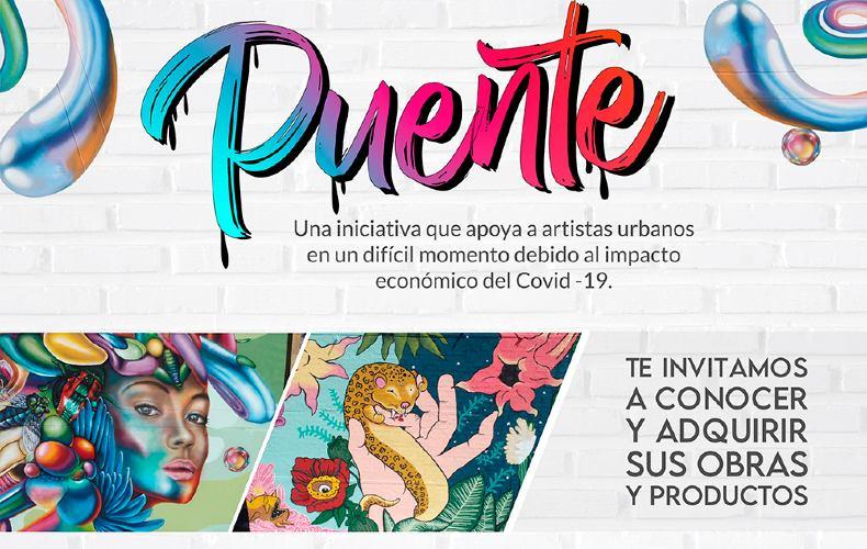 El Puente, una iniciativa para apoyar a los artistas urbanos