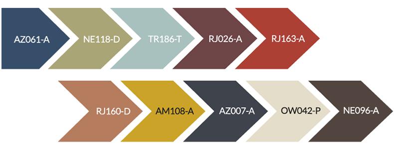 Tendencias de color Pintuco 2020 Herencia ancestral