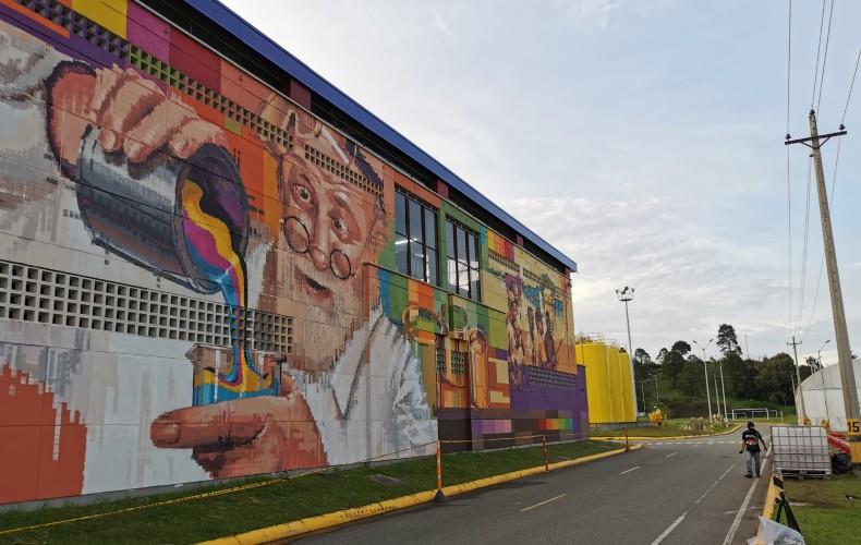 Donde nace el color, un homenaje de Pintuco al arte urbano en sus 75 años