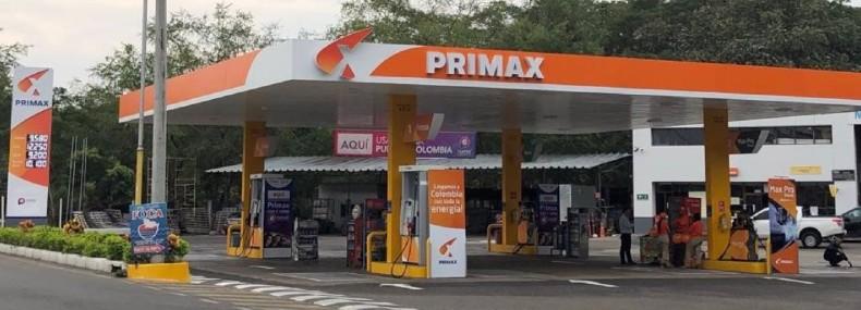 Las estaciones Primax llevan el color de Pintuco