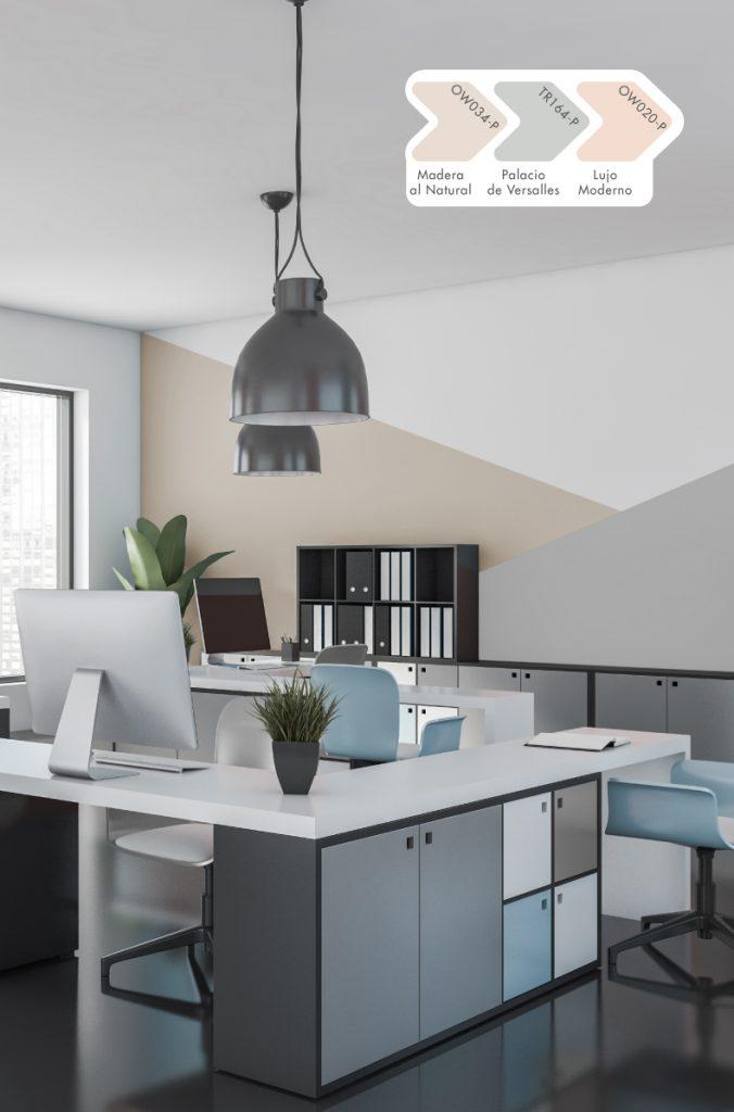 La oficina, el lugar donde no solo reina el color corporativo