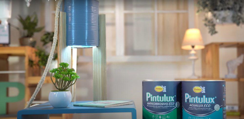 Aprende con Pintuco cómo hacer una lámpara