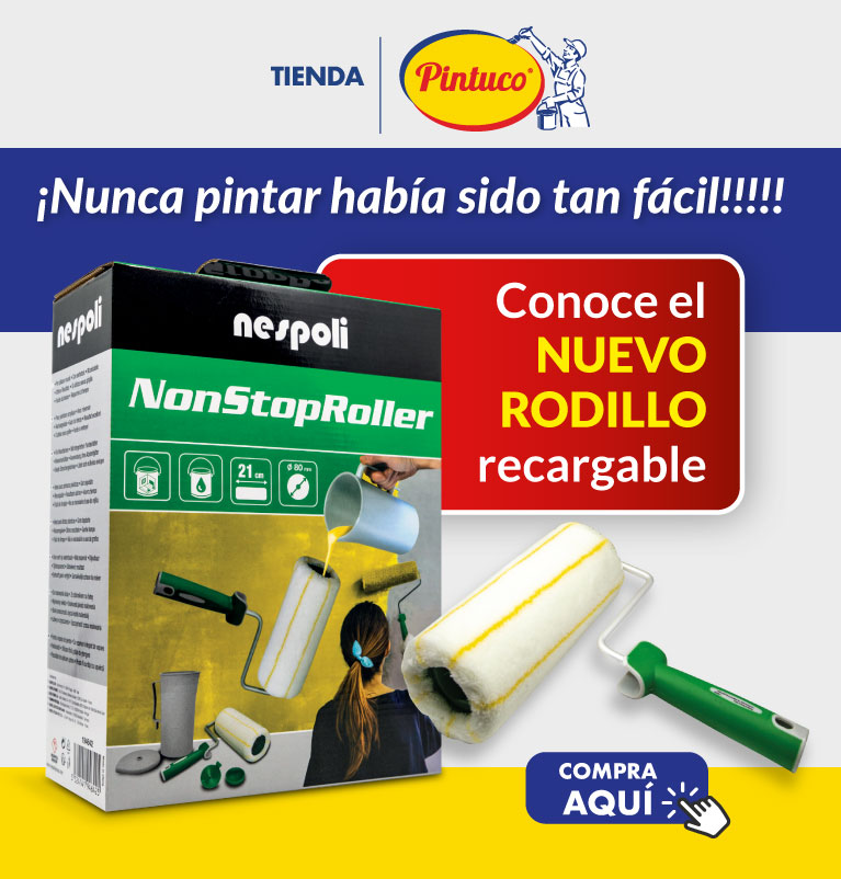 Rodillo recargable
