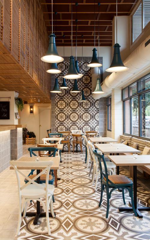Paletas de colores Viniltex de Pintuco para restaurantes Entorno Nativo