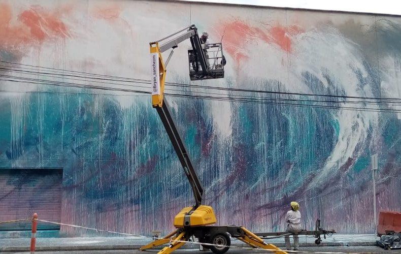 La fundación pintuco llena de color el barrio perpetuo socorro