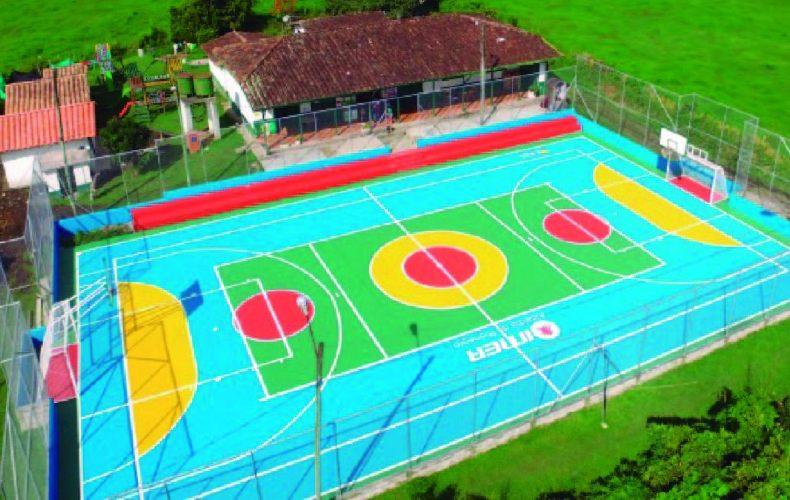58 escenarios deportivos de rionegro se transformaron con color