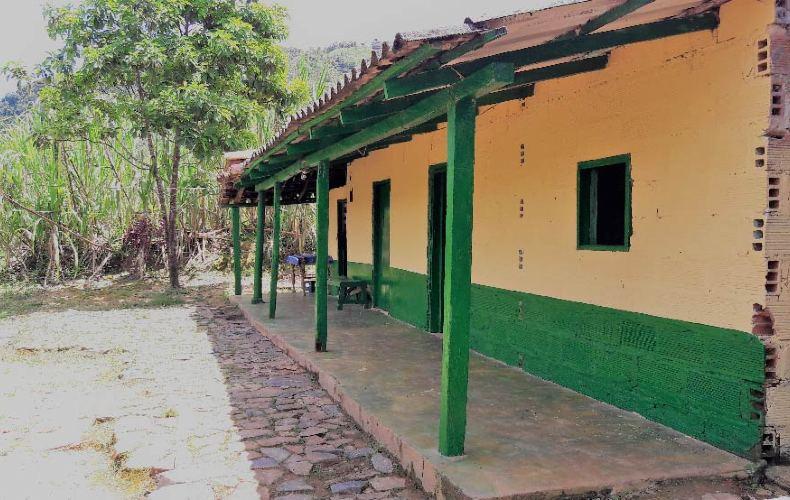 Pintando futuro le puso color al municipio de campamento en Antioquia