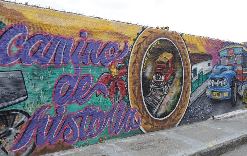 Murales que cuentan la historia de Rionegro