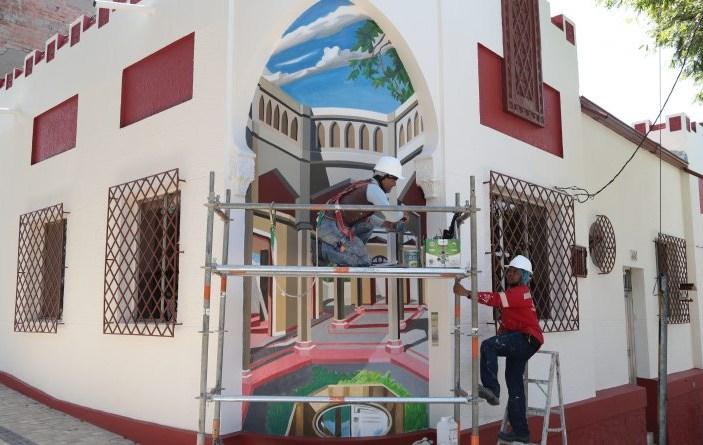 Prado vive su patrimonio y se llena de color en palacé