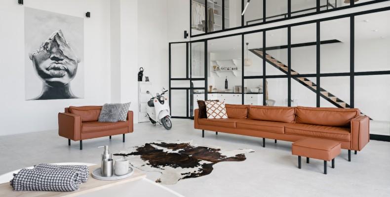 ara ambientes con un muro falso en drywall y Viniltex Vida Eco de Pintuco