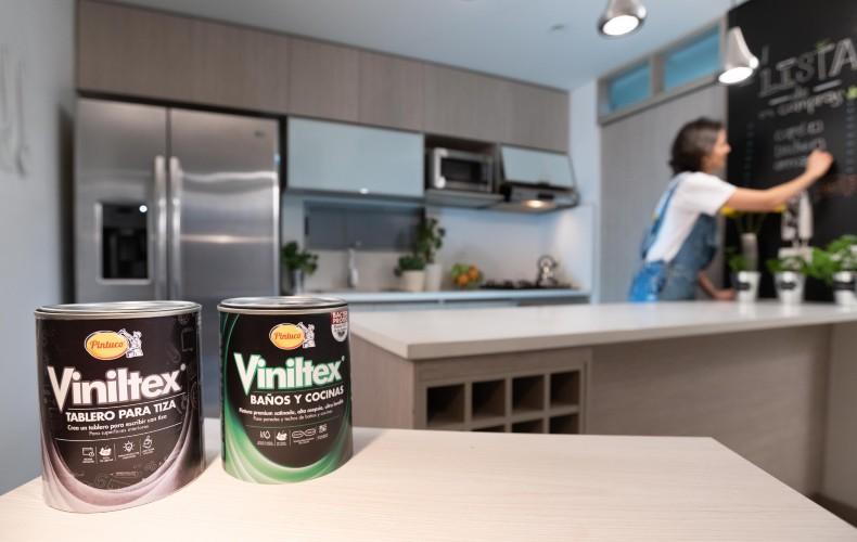 La grasa, las bacterias y la suciedad, no son problemas para Viniltex Baños y Cocinas