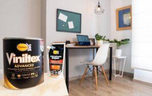 Repara las grietas en la pared y usa Viniltex Advanced