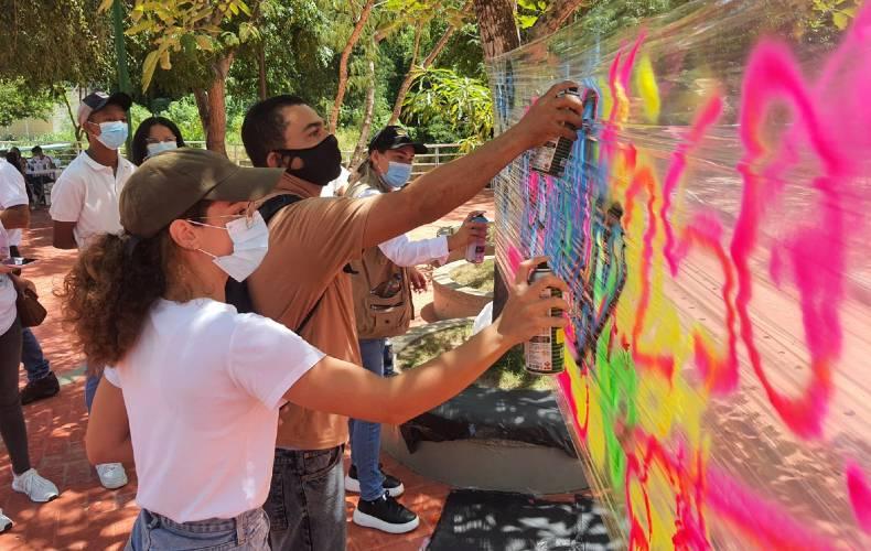 Usiacurí se transformará, a través del color, con el apoyo de la comunidad