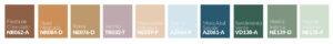 Paleta de colores tendencias 2022